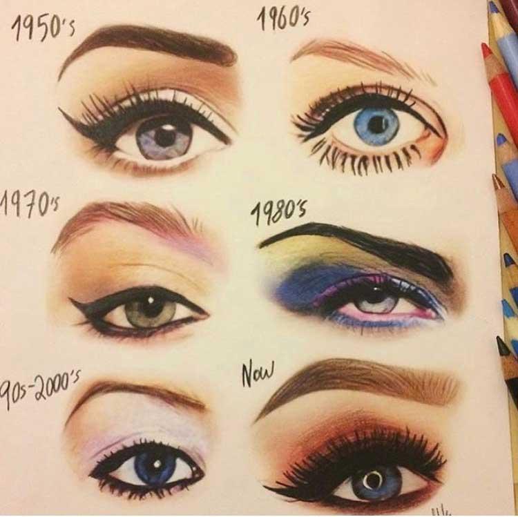 Make up history