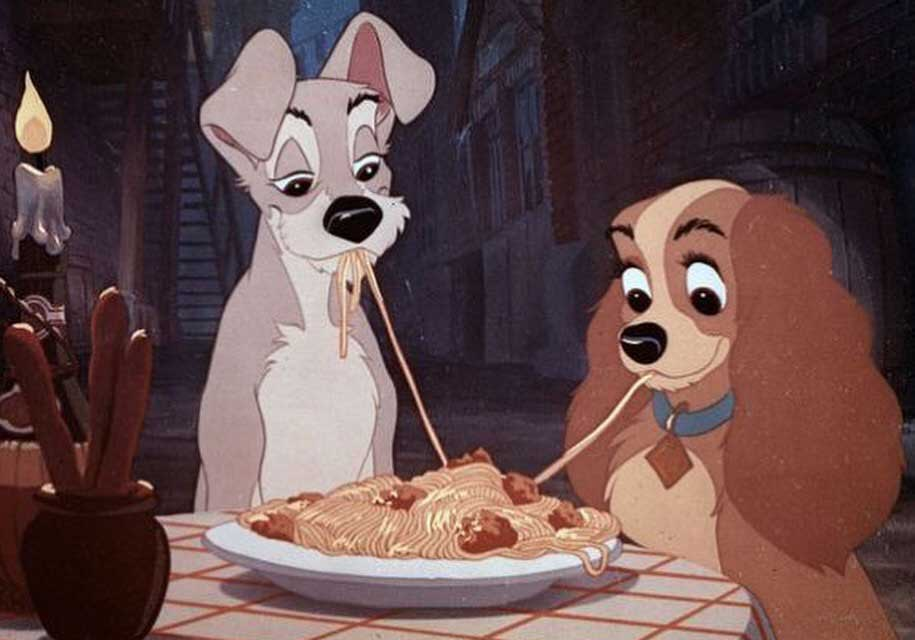 Valentine's day, Lady & The Tramp