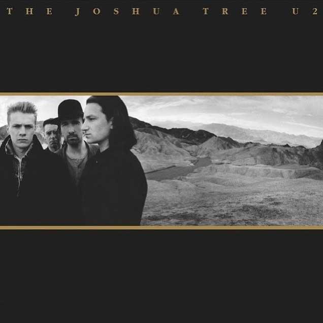 U2, The Joshua Tree, Artwork