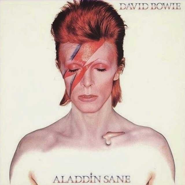 Bowie, Aladdin Sane, Iconic